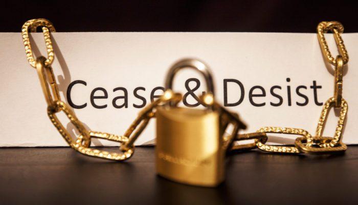 cease and desist letter attorney Orlando FL
